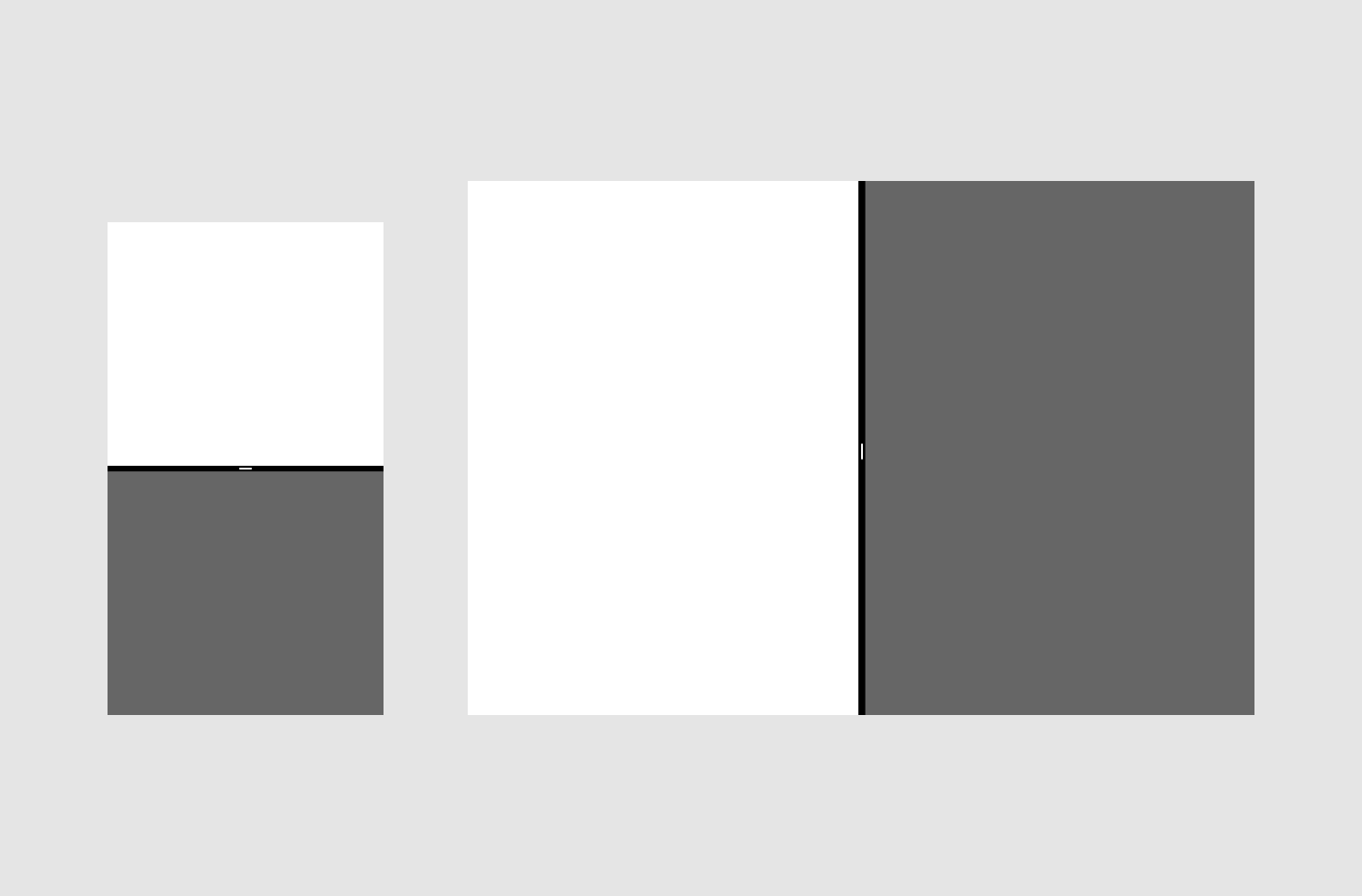 Android split-screen - Material Design