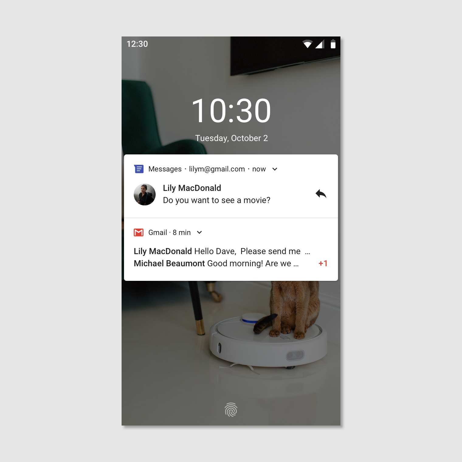 Android Notifications Material Design