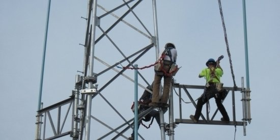Emergency Network Cellular Tower Construction