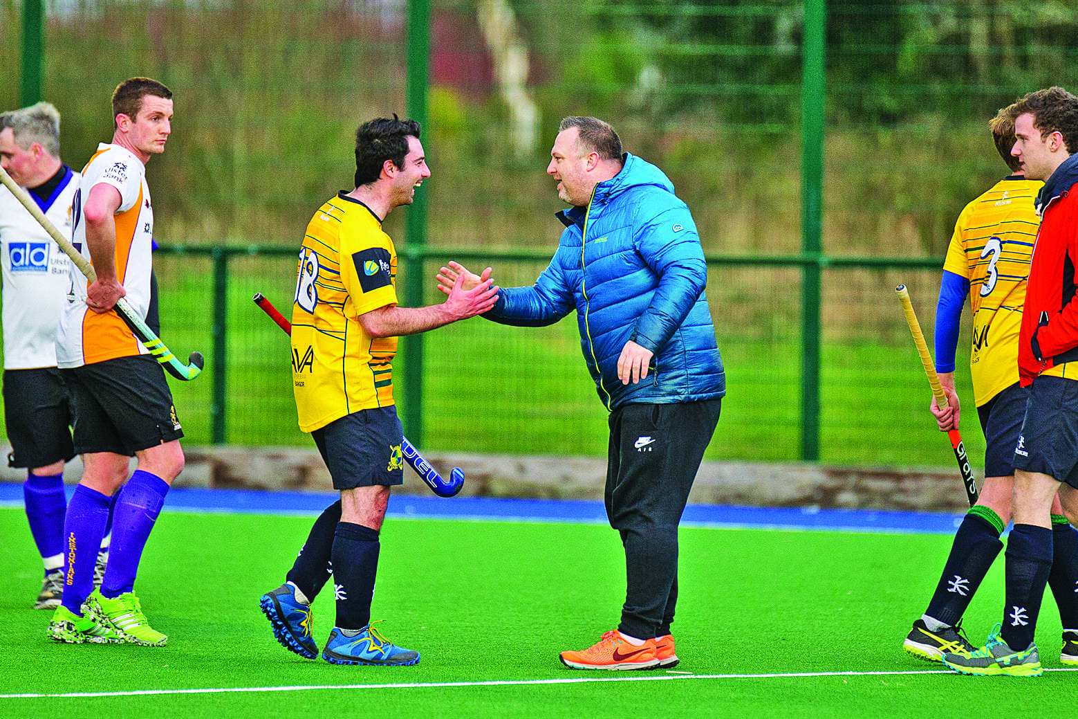 Bangor Men go top of the league