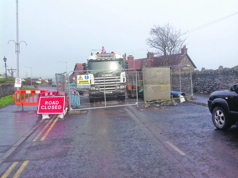 Alarm after gas leak in Groomsport