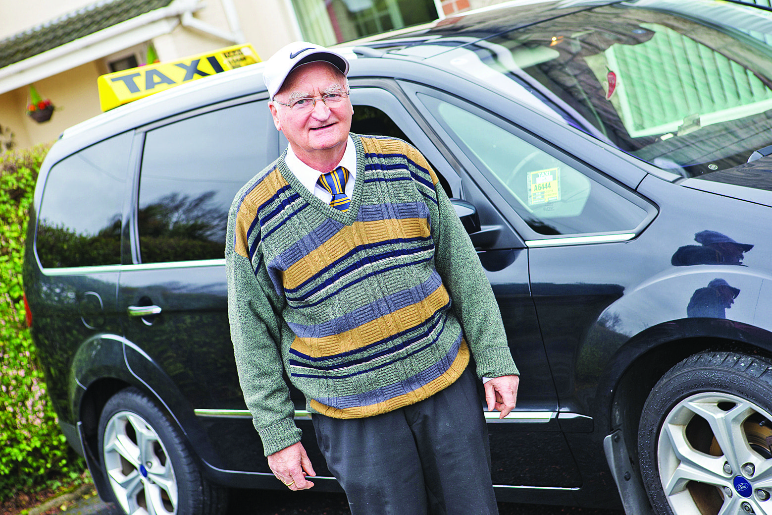 King of the road! Last journey for taxi driver Eric as he retires after 56 years behind the wheel