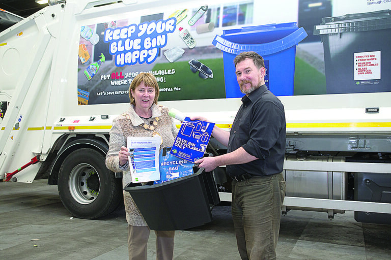 Householders to get second glass recycling box