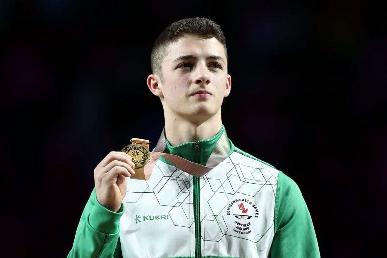 Rhys McClenaghan wins gold in Australia