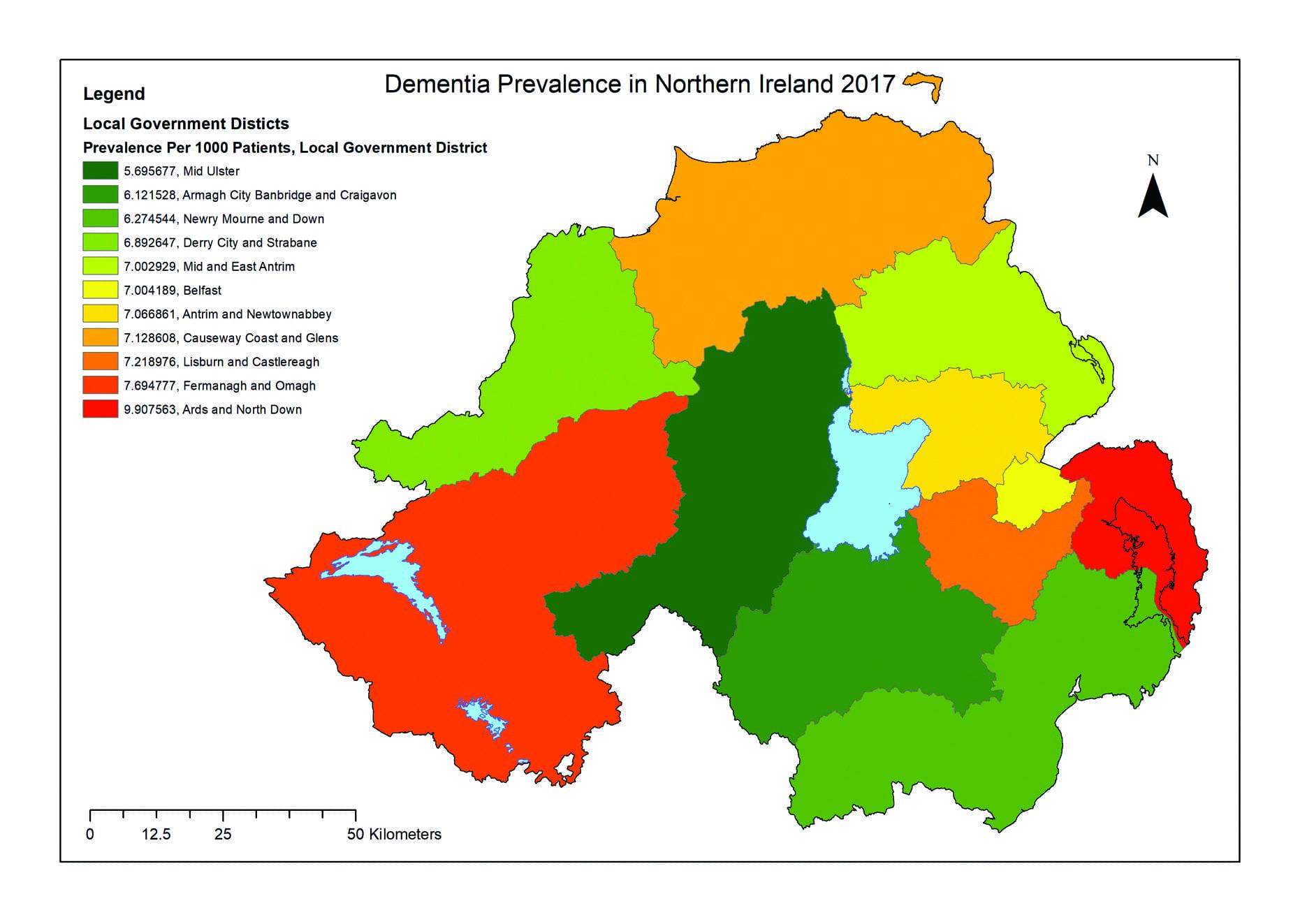 Borough tops the dementia table