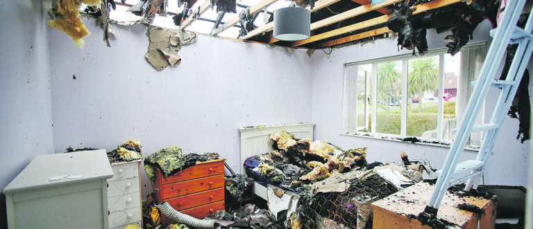 Dorrian family lose mementos in fire