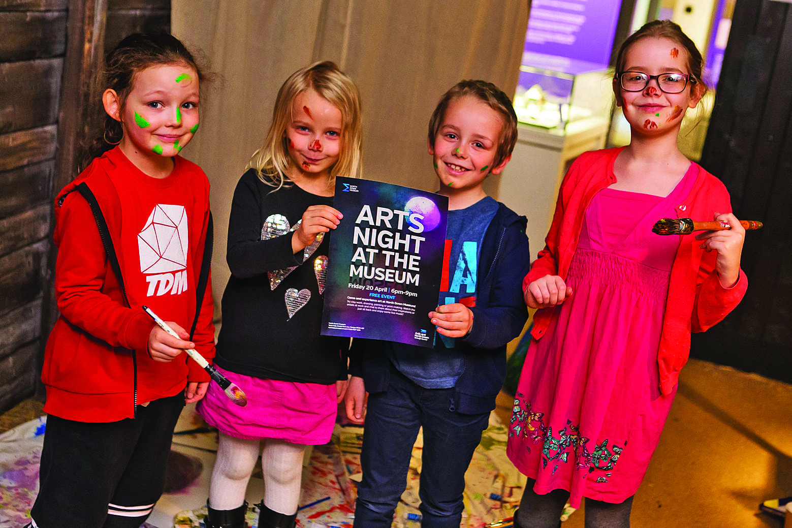 Unleash your inner artist at Arts Night At The Museum