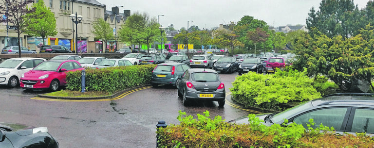 Town centre parking comes under attack