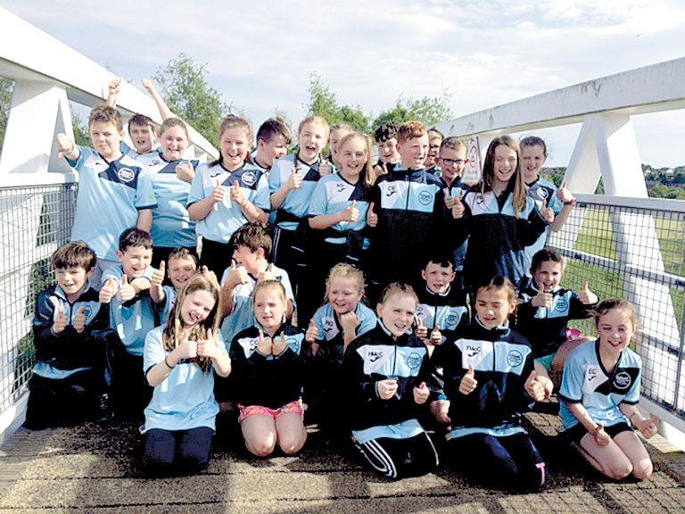 Kilkeel swimmers in Enniskillen for Aquasprint Gala