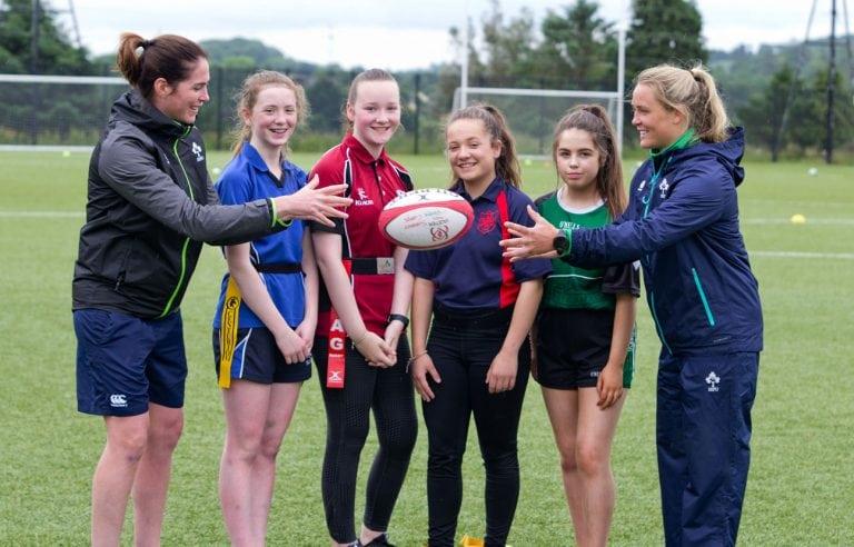 Ballynahinch girls take part in skills day