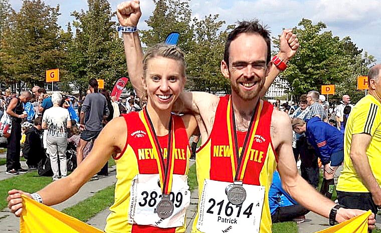 Newcastle athletes take part in the world famous Berlin Marathon