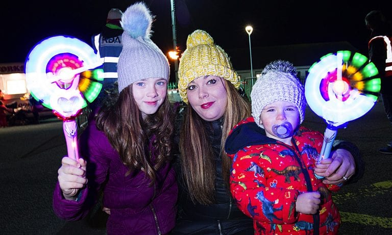 Hallow Lights festivities go down a treat with residents and visitors
