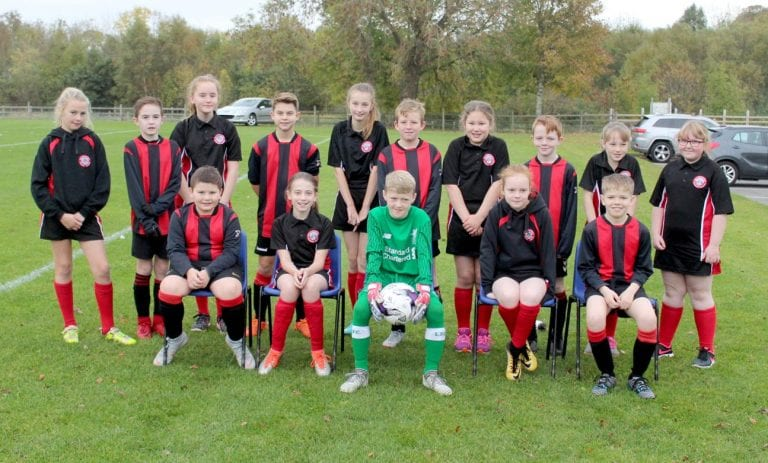School teams out in force for festival of football in Crossgar