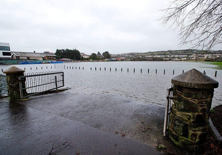 South Down left flooded after Storm Deirdre