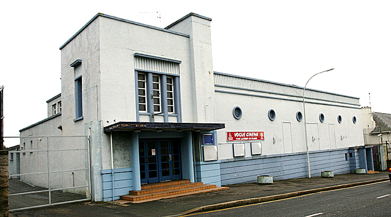 Kilkeel's old cinema building is set to be sold by the council