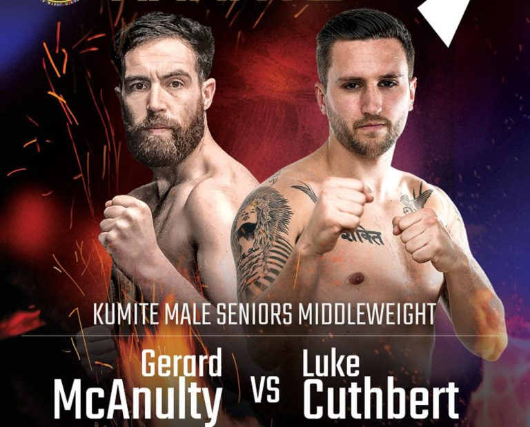 Brothers Gerard and Barry McAnulty who have fights in Poland this weekend