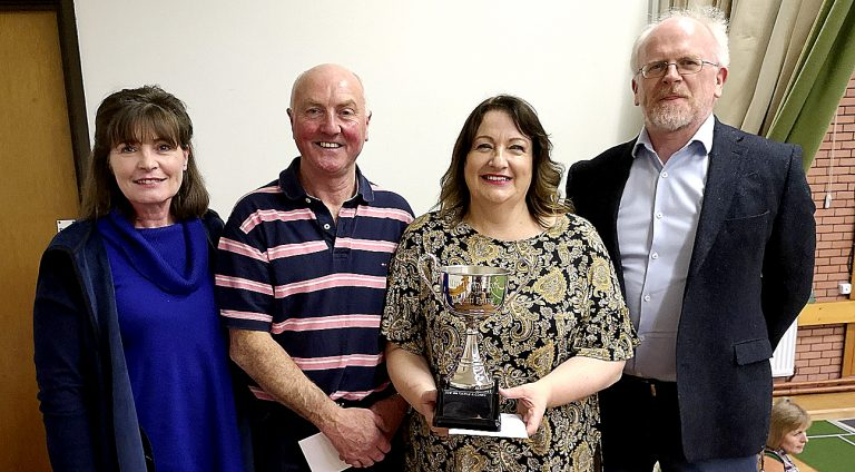 Killyleagh winners in Mid Down's annual mixed pairs competition in Killinchy