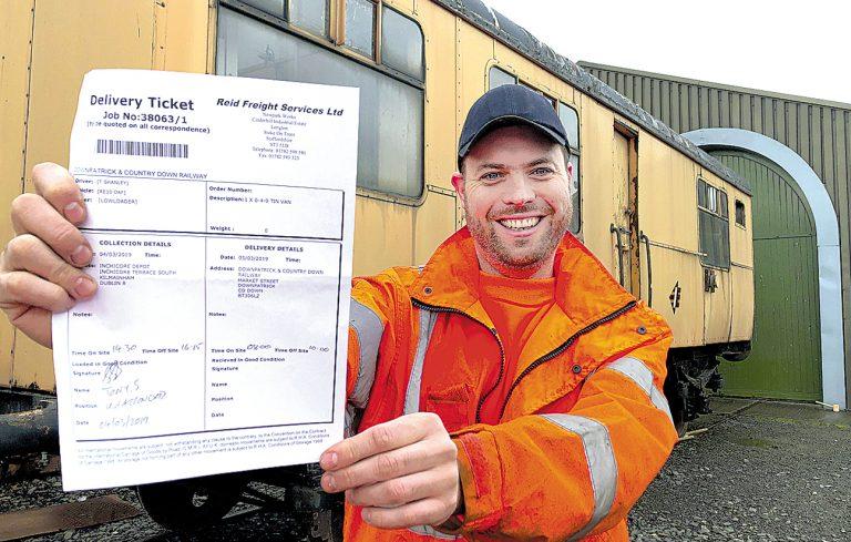 Heritage railway's dash to beat Brexit deadline