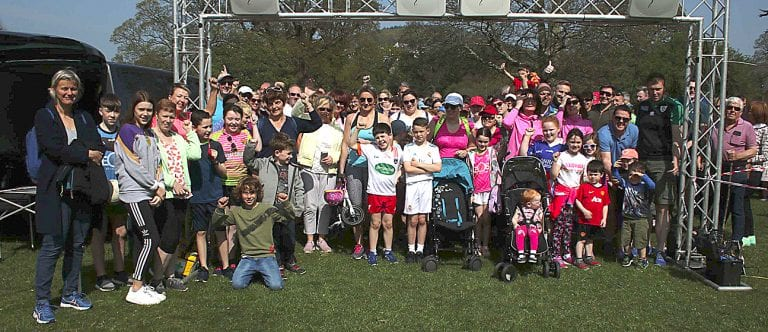Walkers and runners visit Kilbroney Park for Miles for Muscles event
