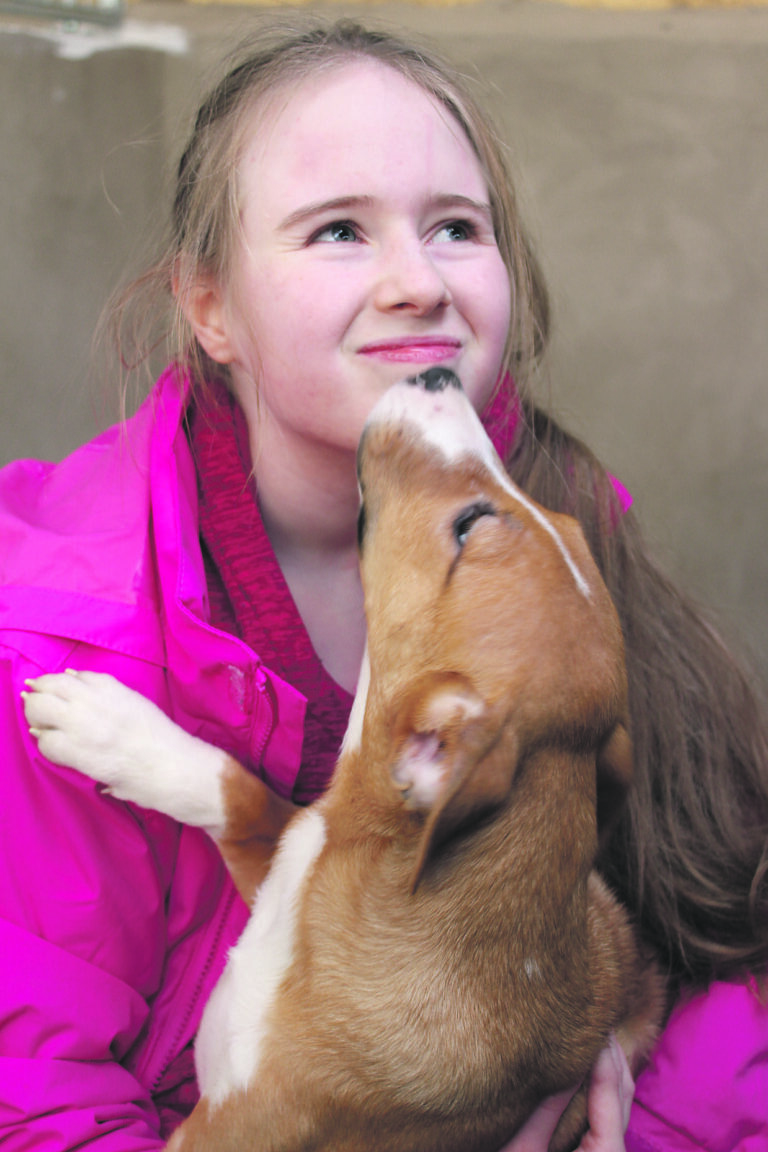 Animal lover Heidi receives a special puppy thank you