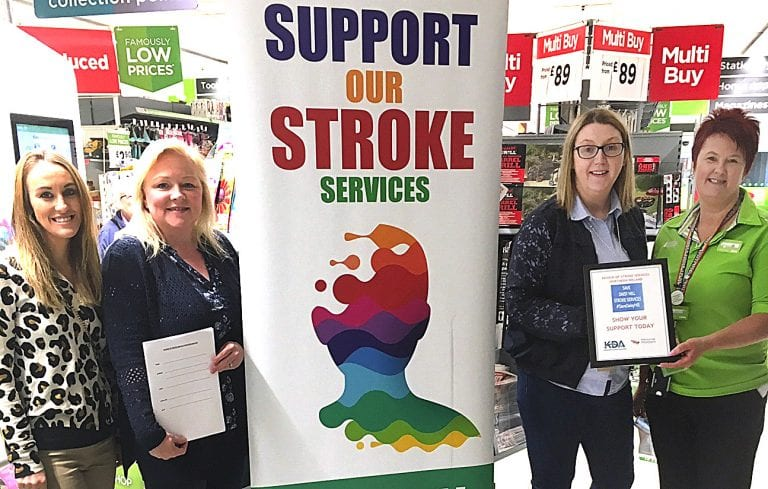 Stroke services campaign brought to Mourne