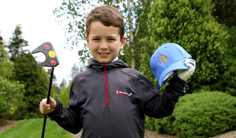 Junior golfer Jaxon wins place in Euro finals