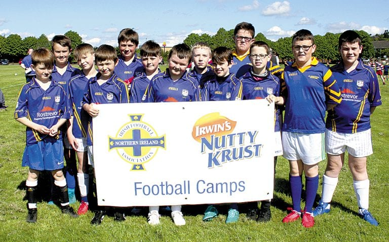 East Down Primary Schools compete in tournaments in Dunleath Park