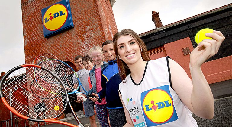 Newcastle Tennis Club served up with new sports equipment