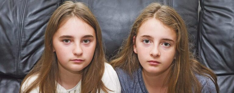 Twins torn apart