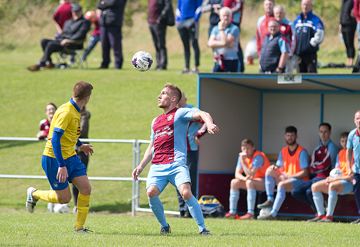 The Irish Cup is under way with mixed fortunes for local teams