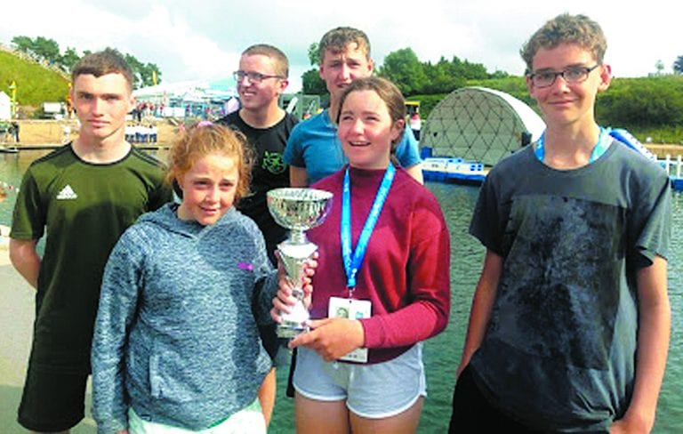 Trophy success for Annalong in Canoe Polo Championships