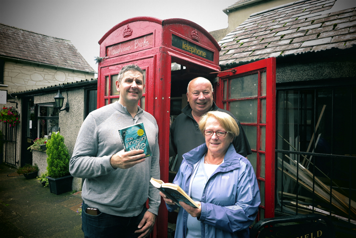 A library in a telephone box? What a turn up for the books!