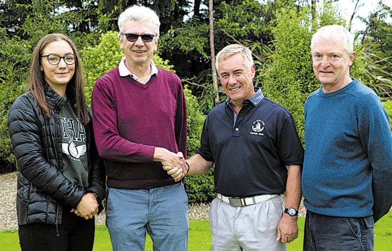 Huge turnout for Aisling's charity event at Spa Golf Club