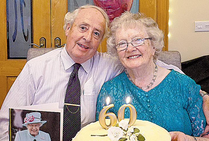 Local couple celebrate diamond wedding anniversary