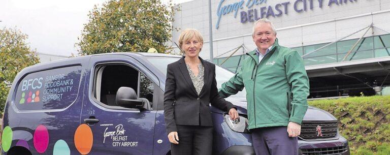 Huge increase in foodbank demand across North Down