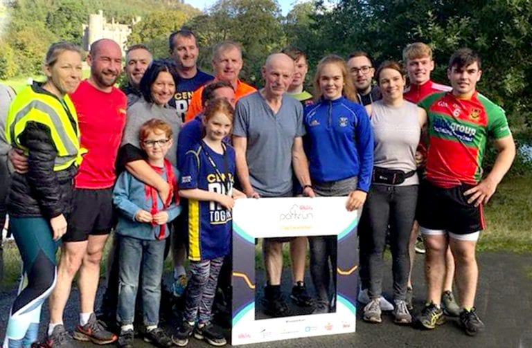 Castlewellan Parkrun's second birthday bash