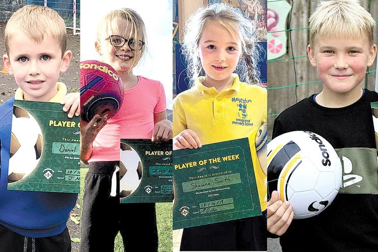 New Grassroots Football weekly awards for local school children