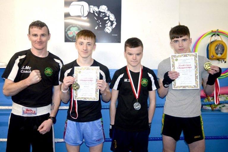 All Blacks boxer Caolam Smith wins Co Louth title