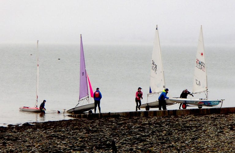 Mince Pie and Roche Trophy races at Carlingford Lough Yacht Club
