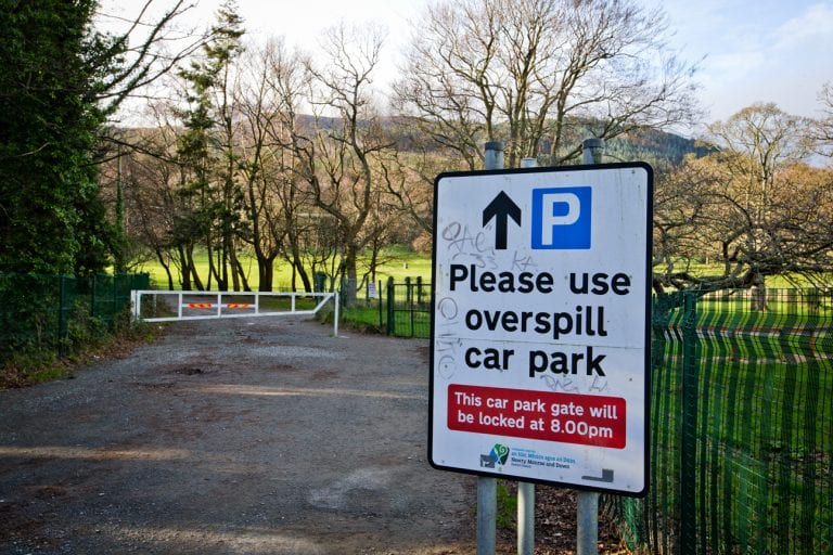 Permanent overflow car park planned for Donard Park