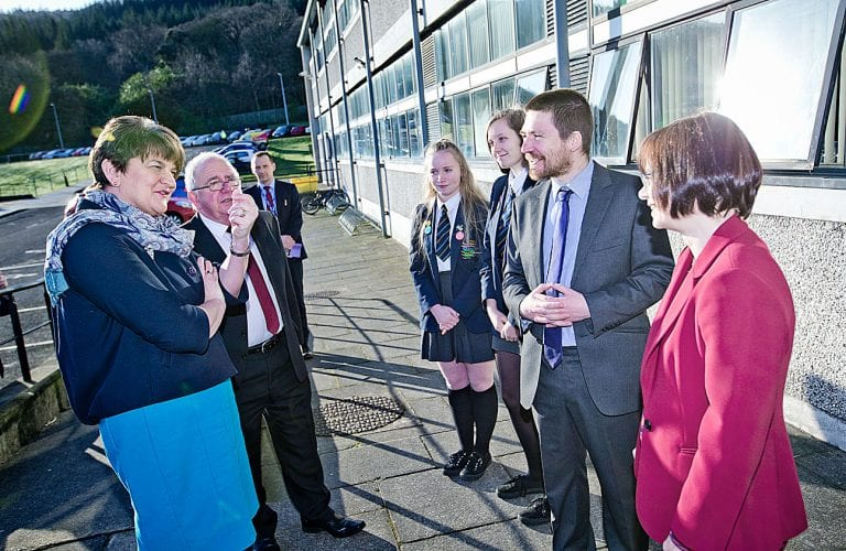 New German connection launched at Shimna Integrated College