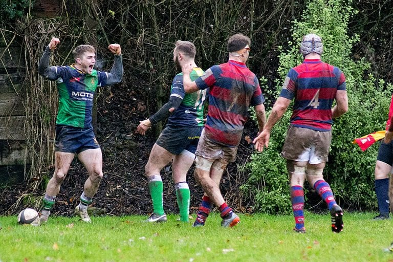 Big four points for Ballynahinch RFC as they beat Clontarf