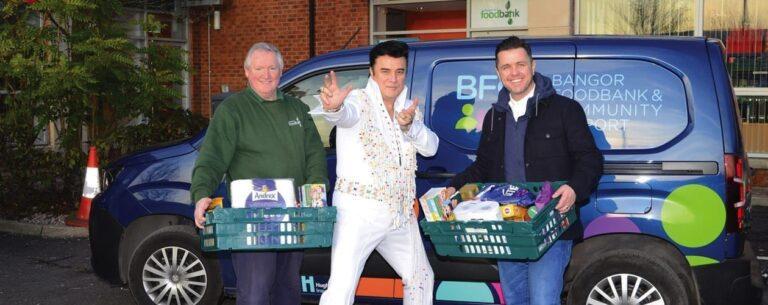 Concert to support Bangor foodbank as demand soars