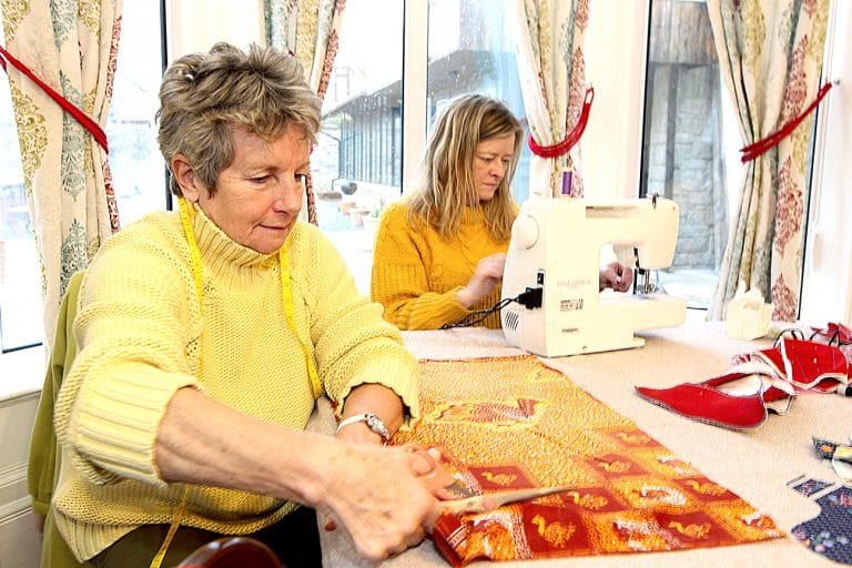 Local sewing circle aims to fight period poverty