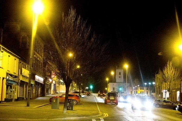 £100,000 street lighting scheme in Castlewellan
