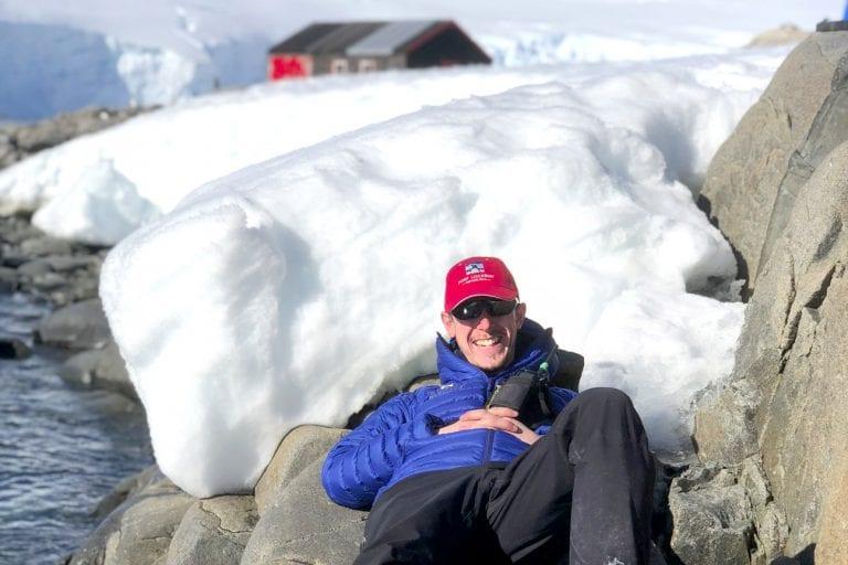 Kit looks back on his Antarctic adventure