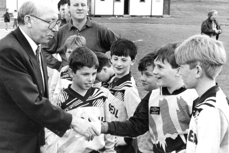 Memories of the Downpatrick Youth Football League
