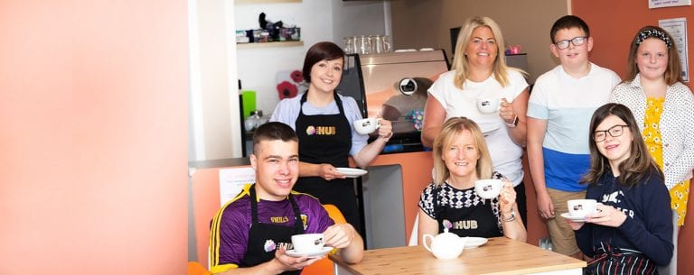 Young people delighted to see coffee shop reopen