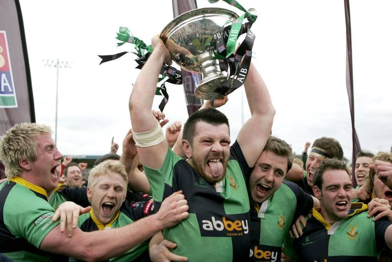 The day Ballynahinch lifted rugby's All Ireland Cup