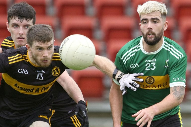 Nine pages of Down Championship first round action